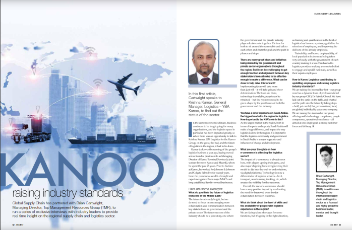 Kanoo Raising Industry Standards – Global Supply Chain Interview Series